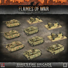 Flames of War German German GEAB17 Army Box Bake's Fire Brigade