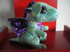 Ty Beanie Boos CINDER the dragon. 6 inch NWMT. IN STOCK NOW.