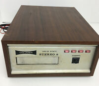 Columbia Solid State Stereo 8 track player, made in Japan #2686 - FREE SHIPPING