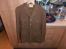 Vtg British Offr's Bespoke Welsh Foot Guards Service Dress Uniform