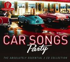 CAR SONGS PARTY: THE ABSOLUTELY ESSENTIAL - NEW CD COMPILATION
