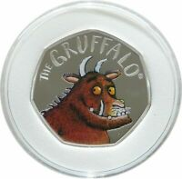 2019 Royal Mint The Gruffalo 50p Fifty Pence Silver Proof Coin Box Coa