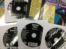 10  Disc Country Party Forever Hits Karaoke CDG TOBY George Strait HANK Paisley