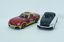 TOMICA~ No.21 ABARTH 124 (初回RALLY) & SPIDER 2 cars 1/57  Free Shipping