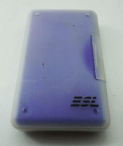 Genuine Nintendo DS Game Case Hold 3 Games 1 Stylus + More Blue Excellent ESL