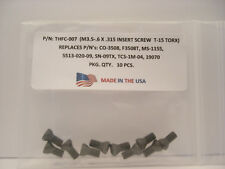 10 Pieces THFC-007 Insert Screw: CO-3508 .. MS-1155 .. 5513-020-09 .. TCS-1M-04