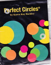 Perfect Circles -  plastic templates for small circles for applique projects