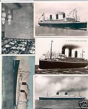 SHIPPING PAQUEBOT SS ILE DE FRANCE 28 Vintage Postcards