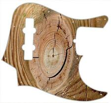 J Bass Pickguard Custom Fender Graphic Graphical Guitar Pick Guard Wood Split 1