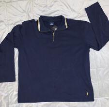 POLO RALPH LAUREN Sleepwear Men's Size XL 1/4-Zip Long-Sleeve Loungewear NWT