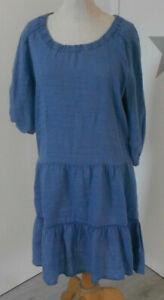 CONLEYS LYKKELIG KLEID GR.38 ,jeansblau,Leinen**Wie neu