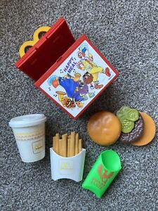 McDonalds Happy Meal Fisher Price 1988 Near Complete missing apple pie flute