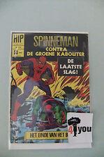 6.0 FN FINE  AMAZING SPIDER-MAN  # 40  DUTCH EURO VARIANT CP  YOP 1968