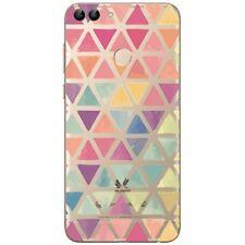 Huawei P Smart - Coque souple et résistante avec impression (Triangles)