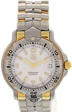 Men's Tag Heurer Professional 18k Yellow Gold & SS WH1151-K1