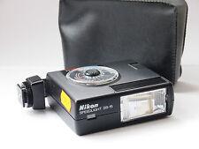 FLASH Nikon sb-15 con Custodia per fotocamere Nikon f3. stock N. u5005