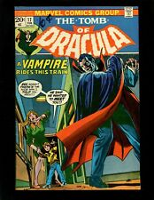 Tomb of Dracula #17 FN+ Kane Colan Blade Bitten by Dracula Dr Sun Jack Russell