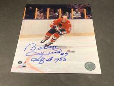Bobby Hull Chicago Blackhawks Autographed Signed 8x10 HOF1983