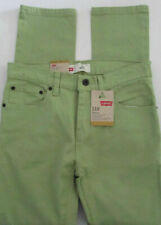 Levis 510 Skinny Jeans Kids Boys Green Sz 14 Reg 27x27