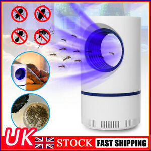 Electric Mosquito UV Light Mosquito Killer Insect Fly Zapper Trap Catcher Lamp