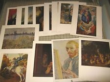 "Lot of 13 National Gallery of Art 11"" x 14"" Color Prints - Washington DC Gallery"
