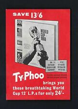 More details for typhoo - world cup - 1966 12
