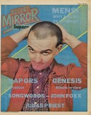 Angelic Upstarts Interview/article 1980