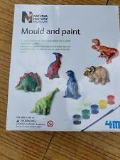 BNIB Natural History Museum Mould & Paint Dinosaur Moulds