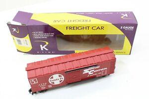 K-LINE ATSF BOXCAR SANTA FE K511-006 S GAUGE