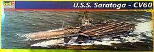 U.S.S. SARATOGA, CVA-60, 1/542, REVELL-MONOGRAM Kit No. 85-5025, -MINT & SEALED