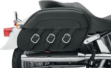 Saddlemen Saddle Bags Drifter Incl. Holder for Harley- Davidson Softail 84-17