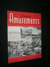 GREATER AMUSEMENTS The Prodigal LANA TURNER JOEL McCREA Drive In Theatre News