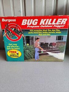 BURGESS 1443 BUG KILLER Propane Outdoor Mosquito Insect Fogger Brand no Quart