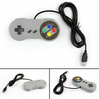 4x Super Nintendo SNES USB Controller GAME PAD Pour PC Raspberry Pi 3 RetroPie A