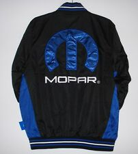 Size M Mopar Jacket Light Weight Ripstop Nylon Embroidered Jacket Black MD