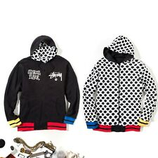 Stussy Iconic Pop Art Reversible Hoodie XL Supreme Condition