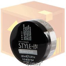 Memory Gum Flexible Shaping Paste box 24 pcs x100ml Style-in Ice Cream ® Inebrya