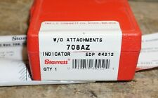 STARRETT 708AZ Dial Test Indicator, Hori,0 to 0.010 In, New in Box
