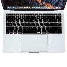 XSKN Hebrew Language Keyboard Cover for Macbook Pro no Touchbar 13/Macbook 12