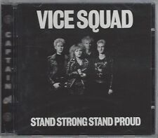 VICE SQUAD - STAND STRONG STAND PROUD - (still sealed cd) - AHOY CD 156