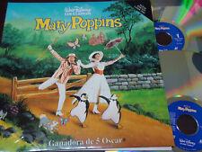 LASER DISC, WALT DISNEY - Mary Poppins, SPAIN, LOCANDINA DOPPIO