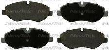 Disc Brake Pad Set-Galaxy Ceramic Disc Pads Front NewTek SCD1316