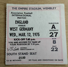English Surname Initial E Football Tickets & Stubs