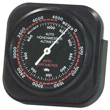 Richter Handheld Travel / in Car / 4x4 / Off Road Black Altitude Altimeter Gauge