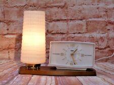More details for vintage metamec electric bedside lamp light alarm clock