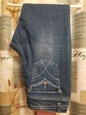 Womens Blue Jeans Kjordan 18W