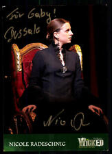 Nicole Radeschnig Wicked Autogrammkarte Original Signiert ## BC 15361