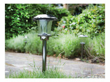 Luxform Princeton Outdoor Garden Path Solar LED Lights Spike Post Light Lamp