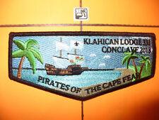 OA Klahican Lodge 331,2018 SR7b Pirates Delegate Flap,Ship, Cape Fear Council,NC