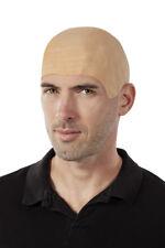 Crane chauve souple bald wig perruque drole deguisement homme halloween fantasie